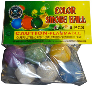 Colored Smoke Balls by Cutting Edge (6pc)