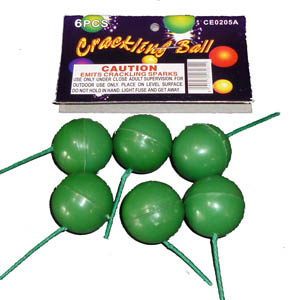 Crackling Balls by Cutting Edge (6 pcs)