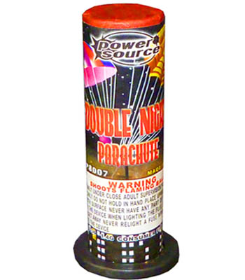Double Night Parachute by Power Source (1pc)