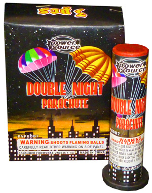 Double Night Parachute by Power Source (3pc)