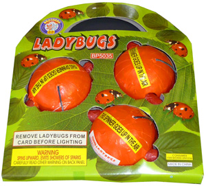 Ladybugs (3pcs)