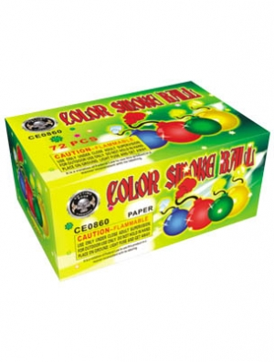 Color Smoke Balls  12 x 6