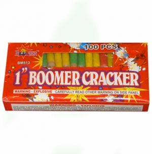 1-inch Boomer Crackers
